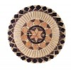 Travertine Medallion Antique Star