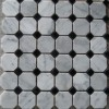 White Carrara Mosaic