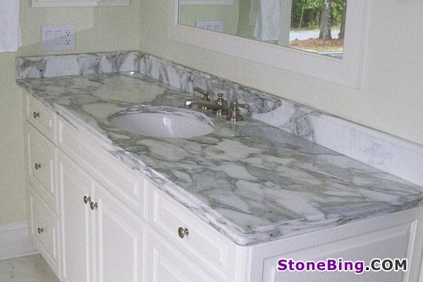 Calacatta Gold Marble Vanity Top