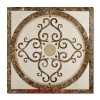 Bordeaux Square Floor Medallion